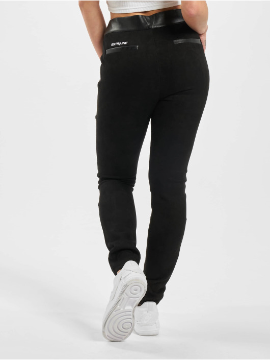 Sixth June Legging/Tregging Suede black