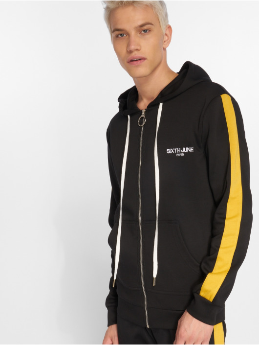 Sixth June Lightweight Jacket Stripe black