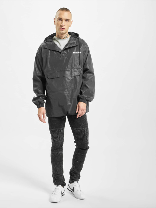 Sixth June Lightweight Jacket Reflective Pull On black