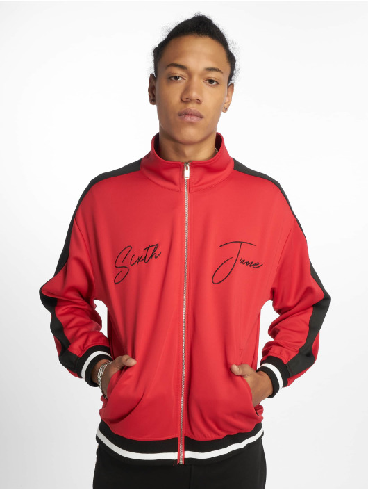 Sixth June Lightweight Jacket Side Band red