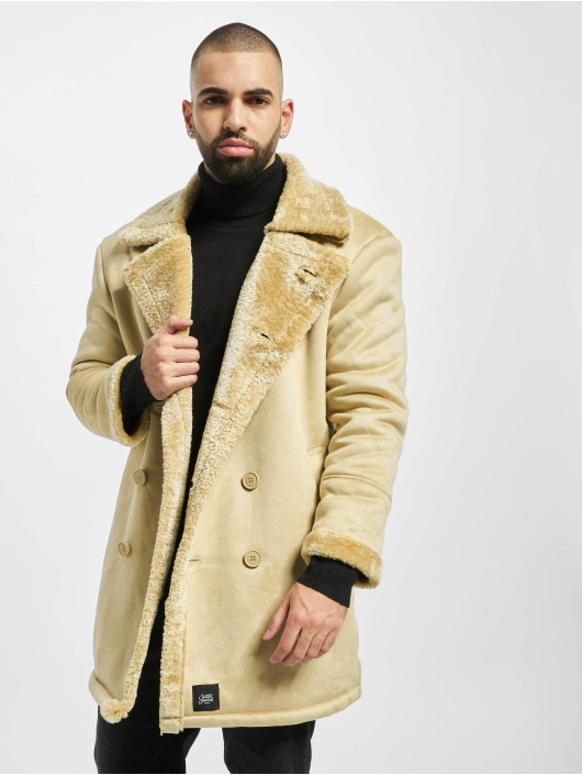 Sixth June Mantel Teddy Fur beige