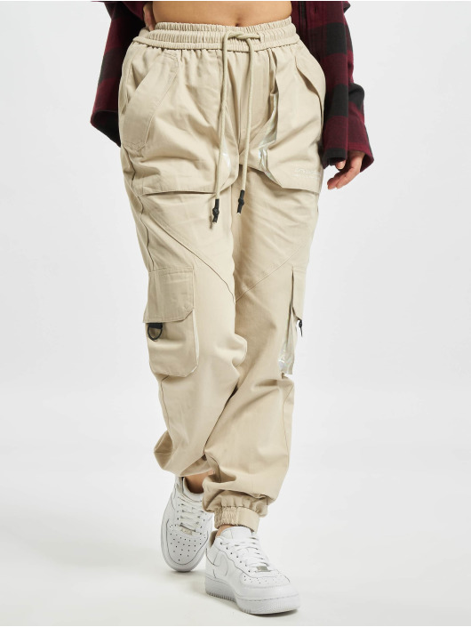 Sixth June Pantalon cargo S beige