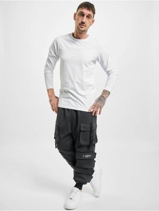 Sixth June Pantalon cargo Front Buckle Pocket noir