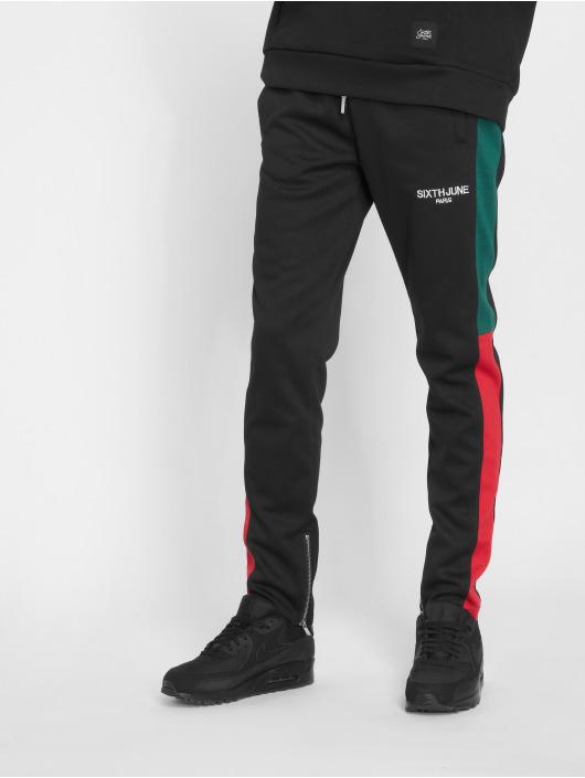Sixth June Pantalón deportivo Stripe negro
