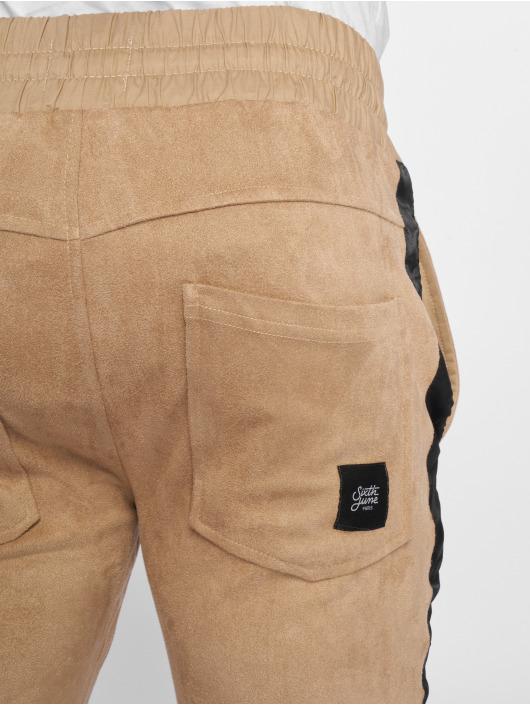 Sixth June Pantalone ginnico Sweat beige