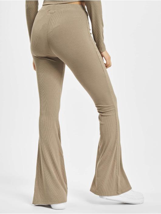 Sixth June Pantalone ginnico Ribbed beige