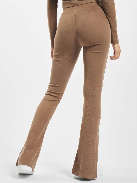 Sixth June Pantalone ginnico Ribbed V2 marrone