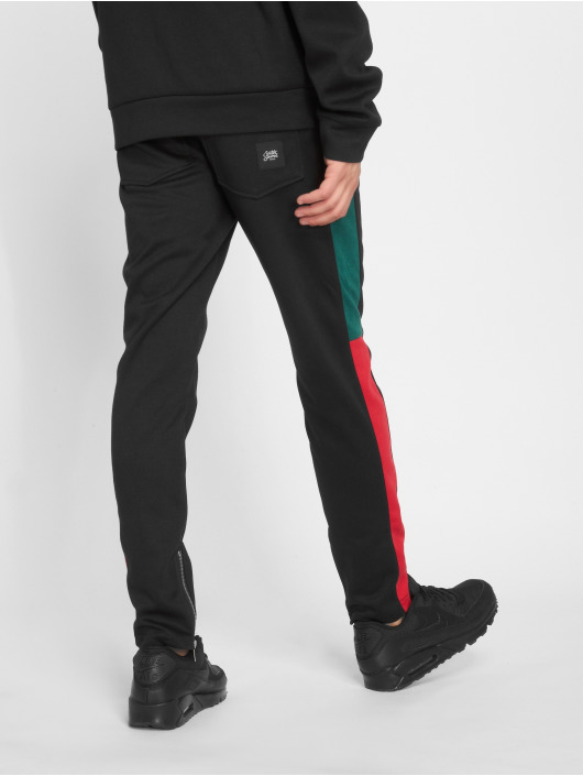 Sixth June Pantalone ginnico Stripe nero