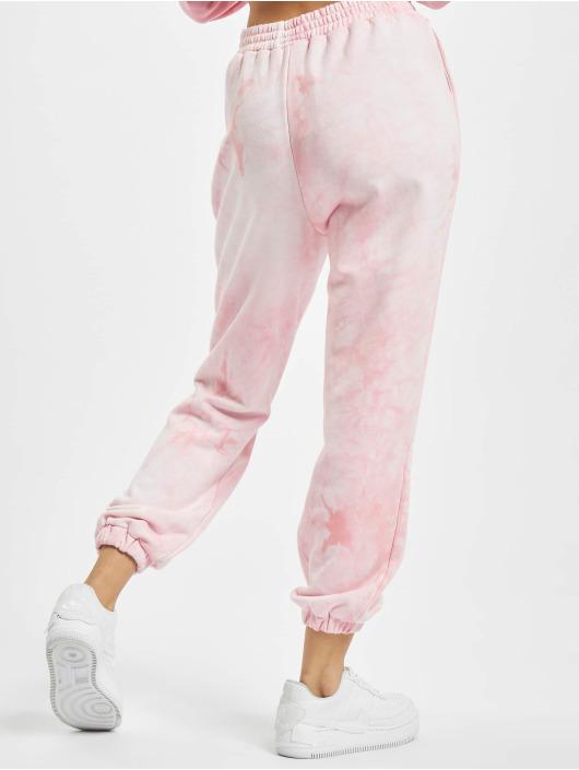 Sixth June Pantalone ginnico Tie Dye Jogging rosa