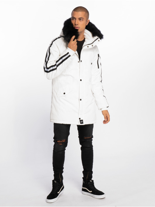 Sixth June Parka Stripes bianco