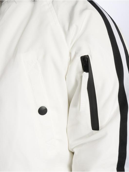 Sixth June Parka Stripes blanc