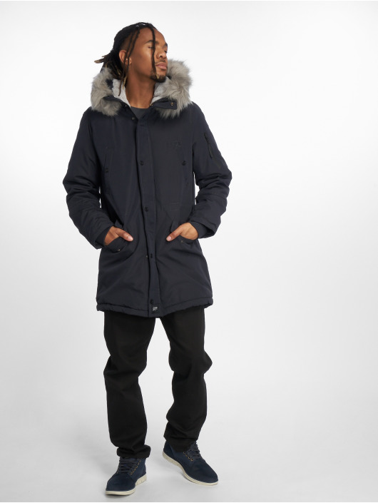 Sixth June Parka Jersey blau