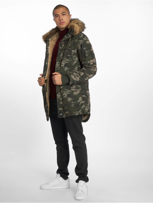 Sixth June Parka Jersey camouflage