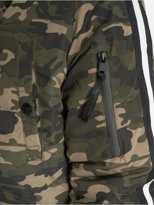 Sixth June Parka Stripes camouflage