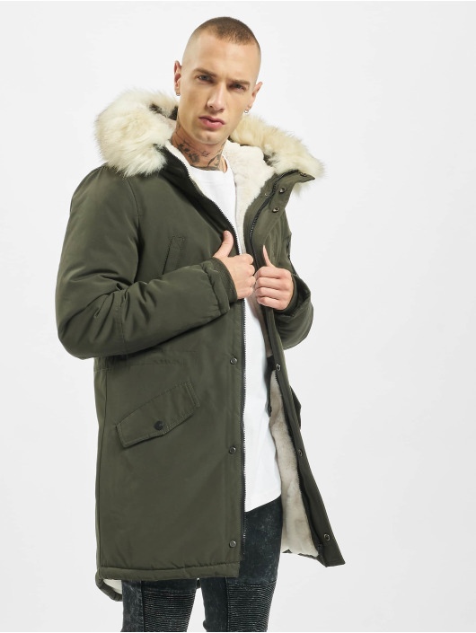 Sixth June Parka Polycotton khaki