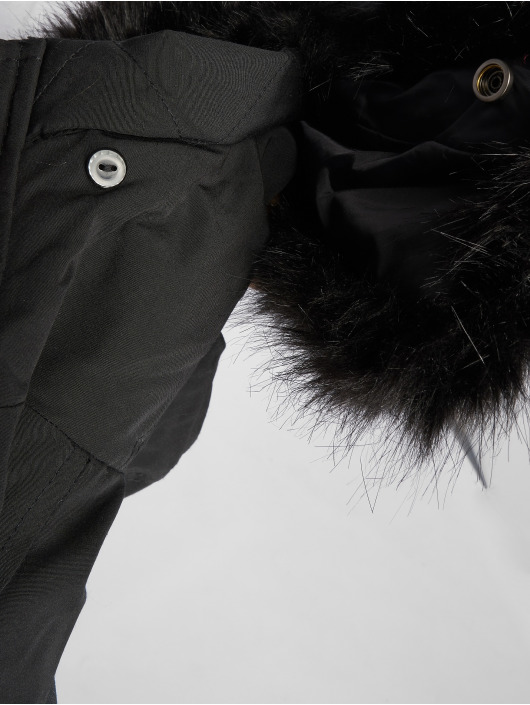 Sixth June Parka Stripes noir