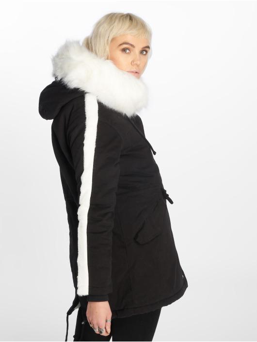 Sixth June Parka Fur schwarz