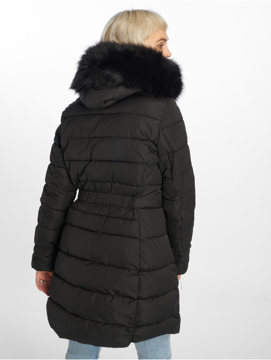 Sixth June Parka Long Down schwarz
