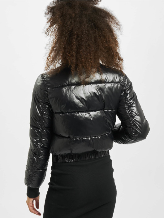 Sixth June Puffer Jacket Vinyl black