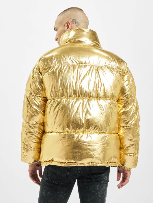 Sixth June Puffer Jacket Oversize gold colored