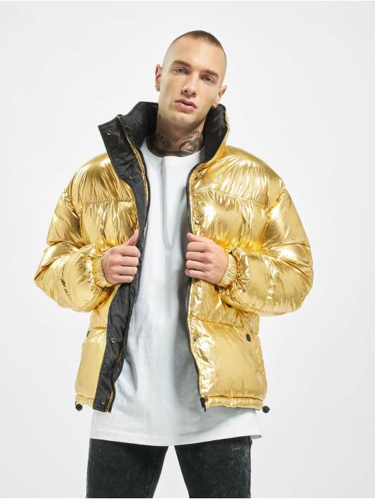 Sixth June Puffer Jacket Oversize goldfarben