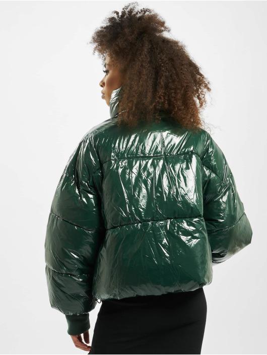 Sixth June Oversize Puffer Vinyl Downjacket green