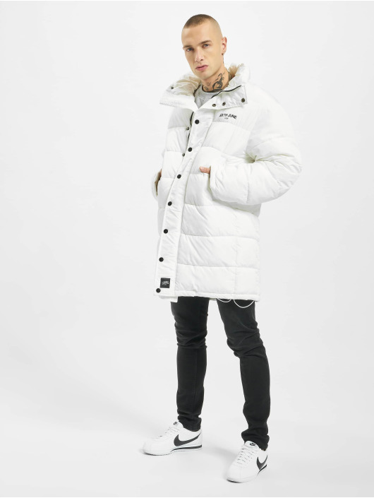 Sixth June Puffer Jacket Long Oversize Down white