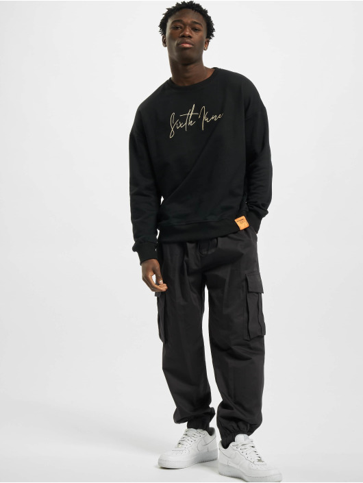 Sixth June Pullover Front Signature black