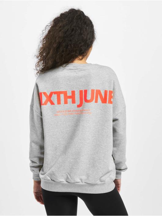 Sixth June Pullover Fluo grau