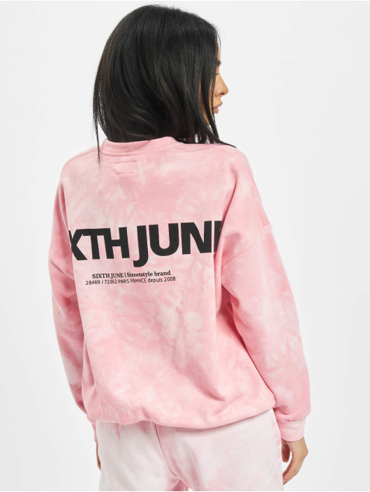 Sixth June Pullover Tie Dye pink