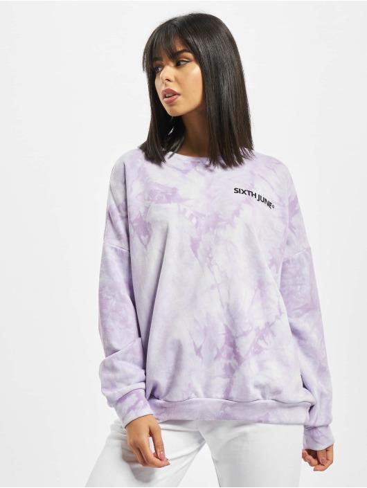 Sixth June Pullover Tie Dye purple