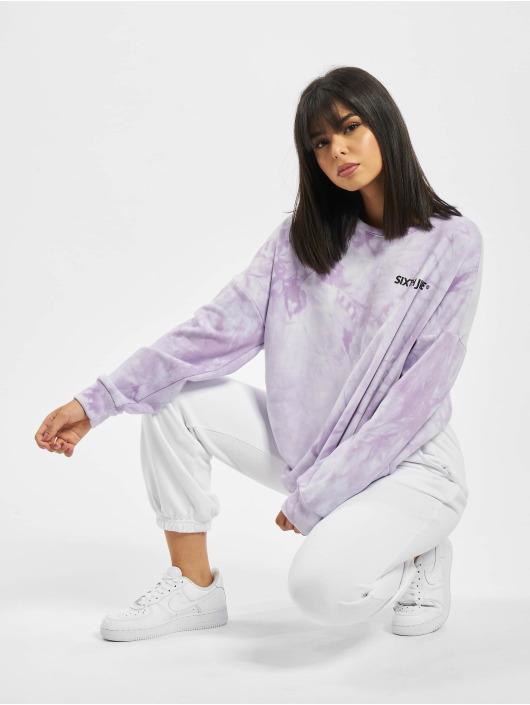 Sixth June Pullover Tie Dye violet