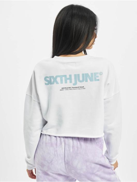 Sixth June Pullover Essential weiß