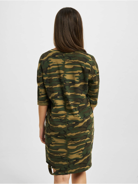 Sixth June Robe Rose Cut camouflage
