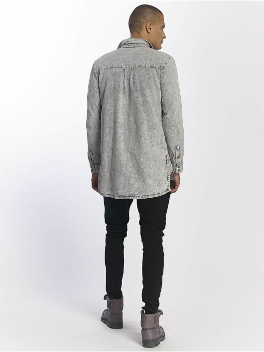 Sixth June Shirt Cargo Pocket grey