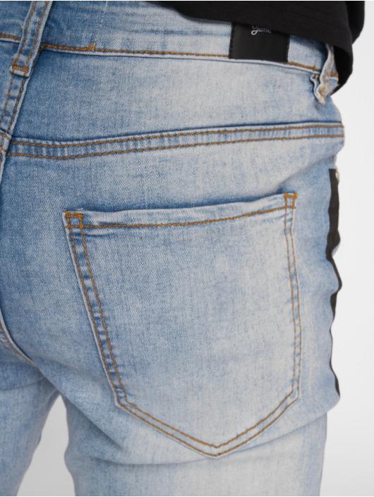Sixth June Skinny Jeans Stripe blå
