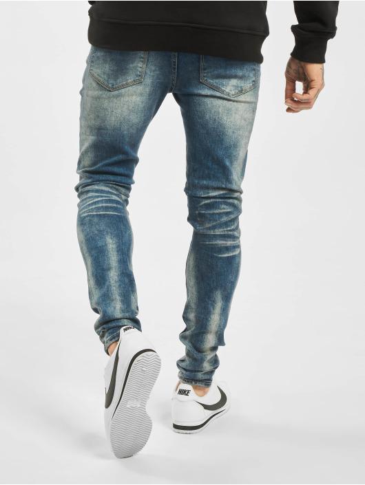 Sixth June Skinny jeans Denim Dirty blauw