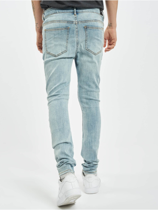 Sixth June Skinny Jeans Destroy Relaxed Denim blue