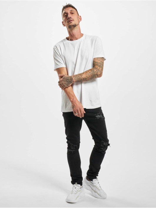 Sixth June Skinny Jeans Inside Bandana Yoke czarny