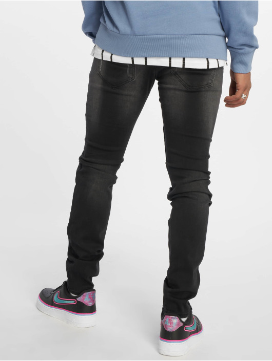 Sixth June Skinny Jeans Washed grau