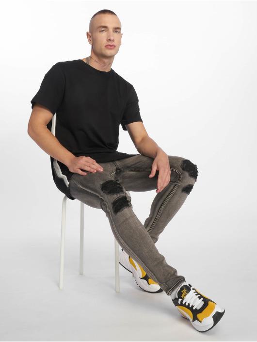 Sixth June Skinny Jeans Destroy gray