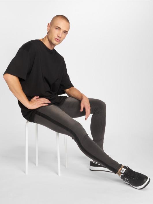 Sixth June Skinny Jeans Tape grey