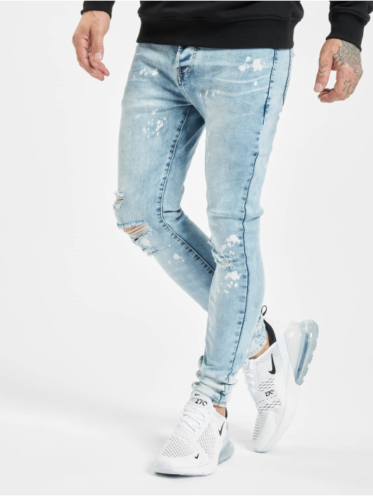 Sixth June Skinny Jeans Skinny modrý