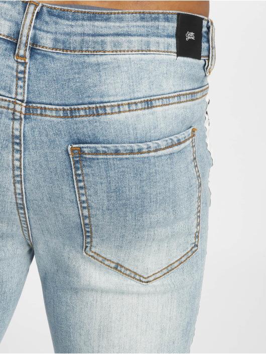 Sixth June Skinny Jeans Stripe niebieski