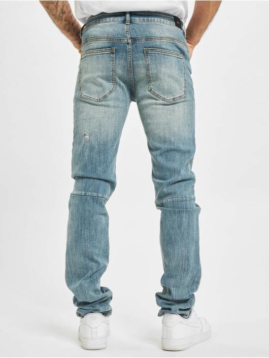 Sixth June Skinny Jeans Heavy Wash niebieski