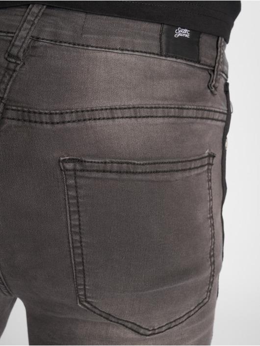 Sixth June Skinny Jeans Tape szary