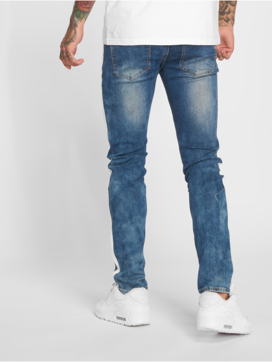 Sixth June Slim Fit Jeans Pekka blå