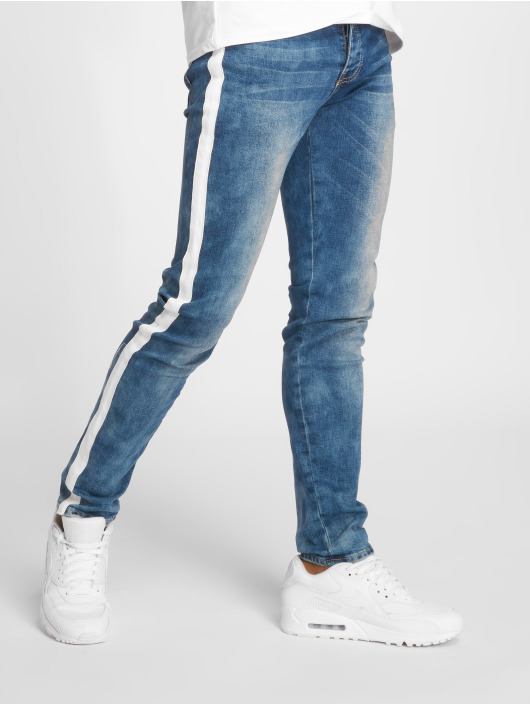 Sixth June Slim Fit Jeans Pekka blauw