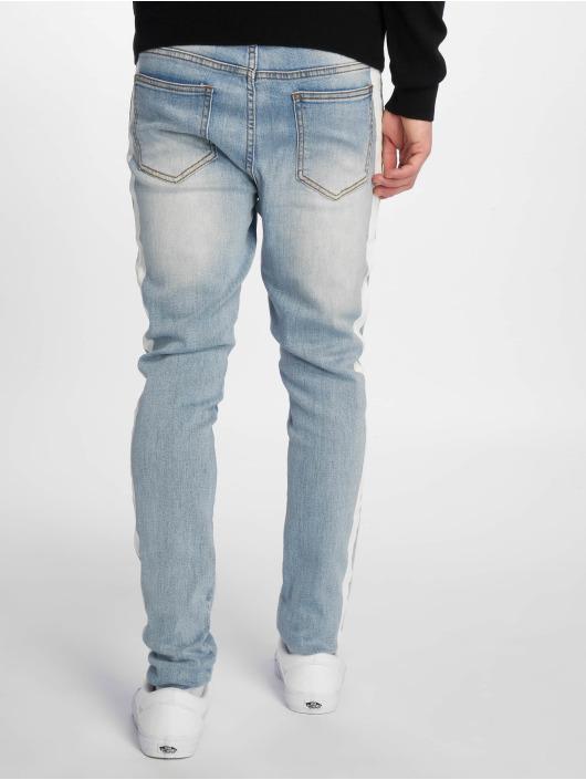 Sixth June Slim Fit Jeans Bands modrá