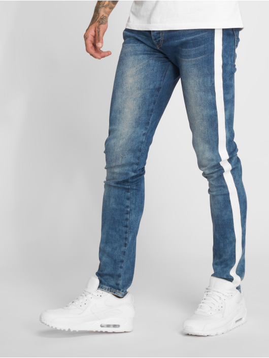 Sixth June Slim Fit Jeans Pekka modrý
